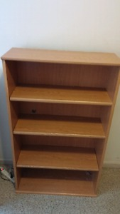 Wanted: Wooden book shelf for sale