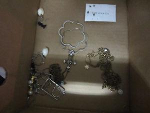 a whole lot of earrings etc jewellery