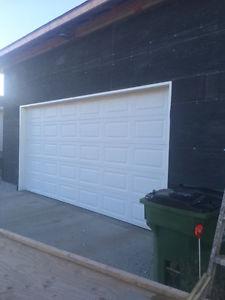 16' insulated Garage Door