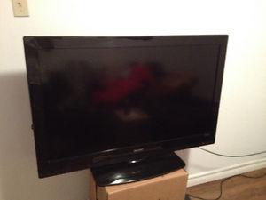 42 inch Sharp flatscreen tv - asking $140
