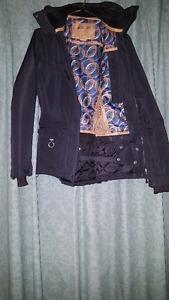 Black LIQUID snow jacket