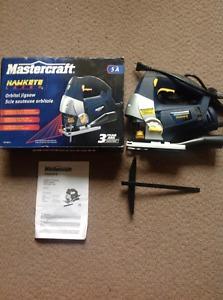 Brand New Never Used Mastercraft Hawkeye Laser Jigsaw