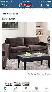 Brand new brown sofa and love seat