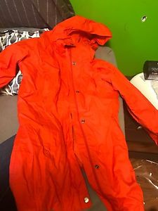 Columbia rain coat size small