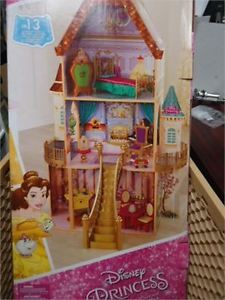 """Disney Princess """"Belle"""" Enchanted Doll House brand new in"""