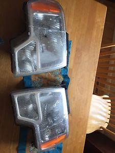 F-150 headlights&bulbs