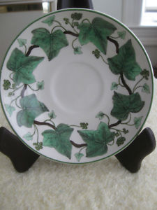 "FIVE QUALITY VINTAGE REPLACEMENT BONE CHINA ""SAUCERS ONLY"""
