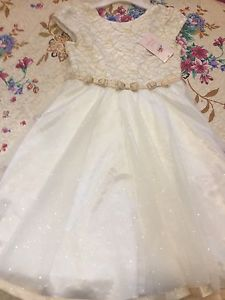 Flower girl brand new with tags dress