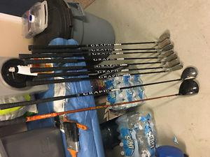 Full Set of Irons & Driver - Left Hand