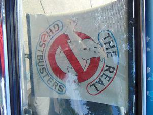 "Ghostbusters Auto Car Sun Shade Side Rear Window "" X"