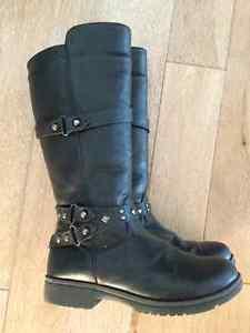 Girls' Black Dressy Boots Size )