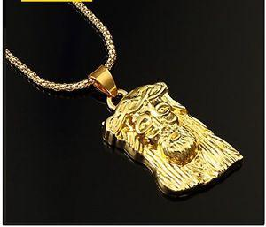 Gold plated pendant and chain