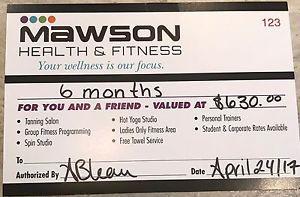 Gym Membership- 2 people