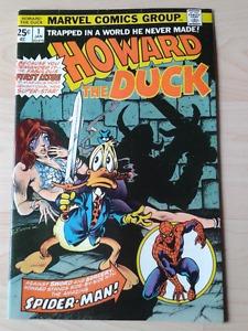 Howard The Duck #1 (Marvel ) - Signed By Steve Gerber