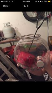 I'm selling my fishbowl with accessories