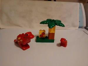 Lego Duplo T-Rex Dinosaurs Set # - Year  - Complete