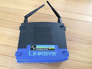 Linksys G 24GHz wireless router
