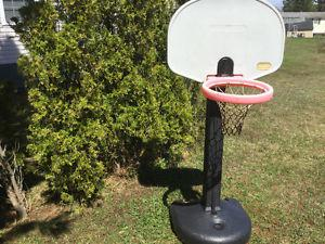 Little Tikes Adjust 'N Jam basketball hoop