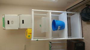 Lots of Storage units and shelving for sale