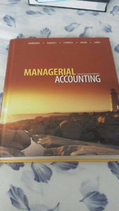 Managerial accounting 9th