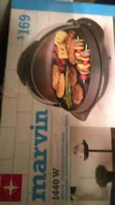 Marvin indoor electric grill. Reduced price