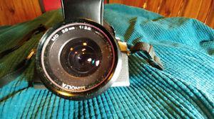 Minolta XG-M, & 4 amazing lenses like new, auto flash, with