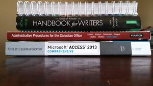 Office admin books