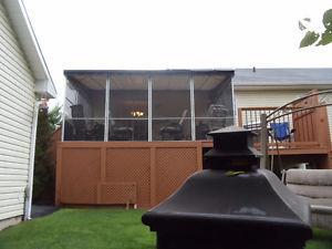 Patio Enclosure (Screen Porch / Gazebo)