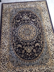 Persian Rug - Gold and Brown