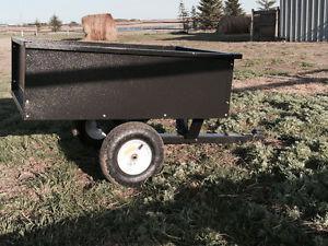 Quad or Garden Tractor dump trailer