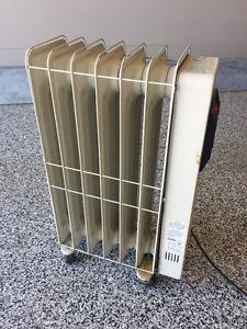 Radiant Oil Heater w