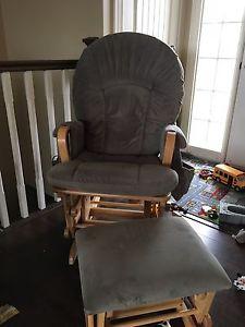 Shermag rocking chair.