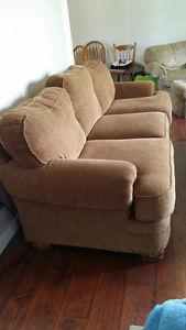 Sofa and Ottoman for sale