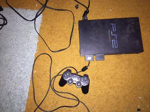 Sony Playstation 2 with Controller, Games and Memory Cards
