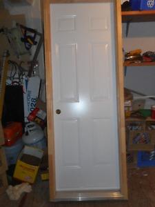 """Steel Door 28"""" w x 80"""" H"""
