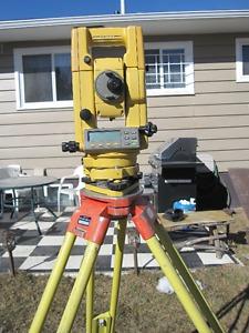 Survey Equipment - Topcon GTS312 Survey Instrument & Access.