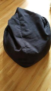 Tear shaped bean-bag chair