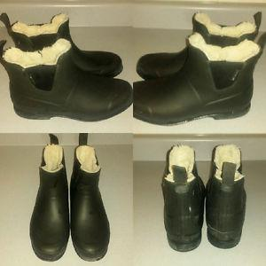 Tretorn rubber boots (size 10 womens)