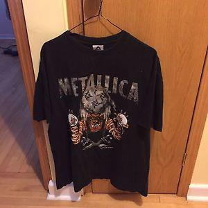 Vintage Metallica Pushead XL t shirt