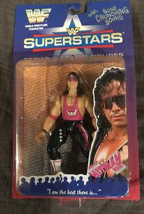 WWF Jakks Bret Hart Wrestling Figure, WWE