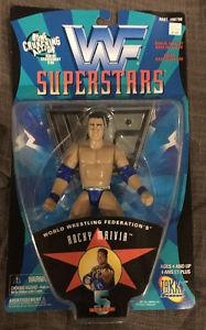 WWF Jakks Rocky Maivia / The Rock Wrestling Figure, WWE