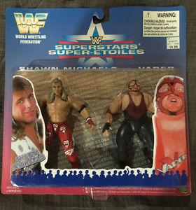 WWF Jakks Shawn Michaels vs Vader 2 Pack, WWE