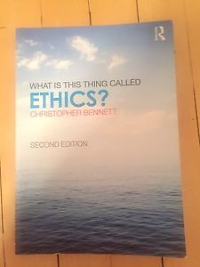 Wanted: What is This Thing Called Ethics?