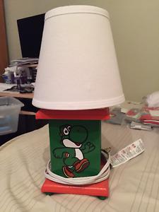 Yoshi Lamp and Olaf Lamp
