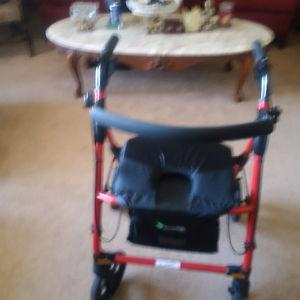 new red walker