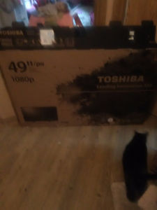 49 in Toshiba brand new in box
