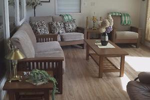 6 Piece Living Room Set + Dressers