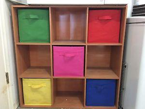 9 cube organizer/ Toy Organizer