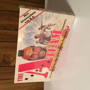 A-TEAM / MR. T. BOARD GAME SEALED / UNOPENED