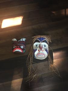 Aboriginal Carvings - Masks